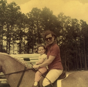 Me and Mom in Central Florida, Riding