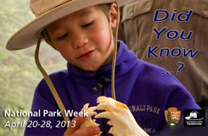 National Park Week 2013