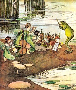 Ida Rentoul Outhwaite, The Jazz Band, 1921